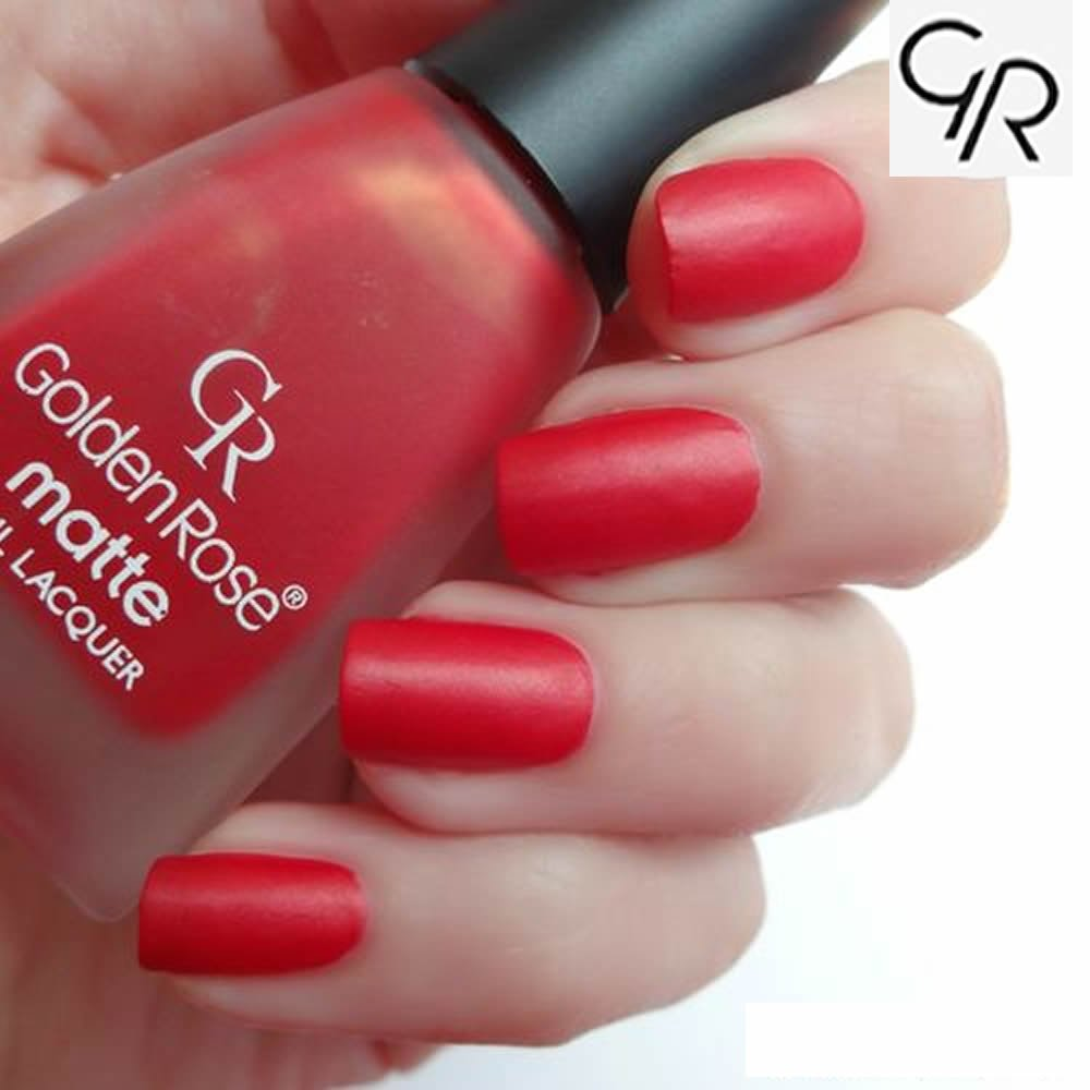 Amazon Golden Rose Matte Nail Polish