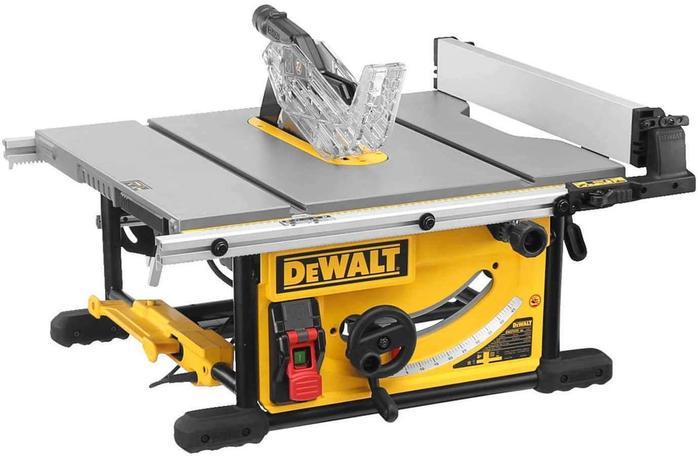 DeWALT DWE7492-QS DWE7492-QS-Sierra de Mesa 2.000W-Ø250mm-Mesa ...
