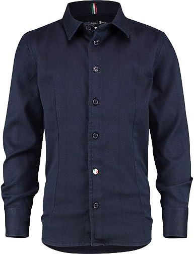 Vingino Lanicio CR 21 - Camisa para niño, color azul oscuro ...