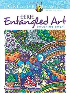 Creative Haven Eerie Entangled Art Coloring Book