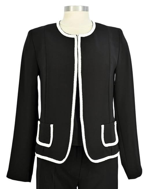 Chanel ven chaqueta corta negro