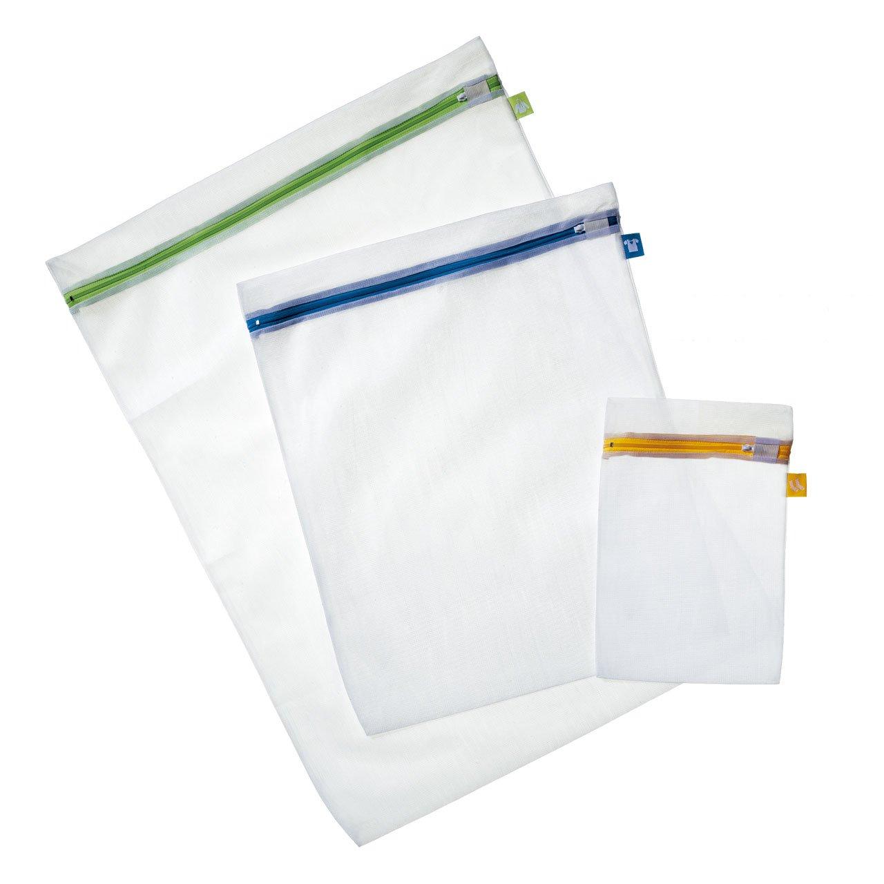Rayen 6087 - Set de 3 bolsas malla para proteger ropa en la lavadora, material