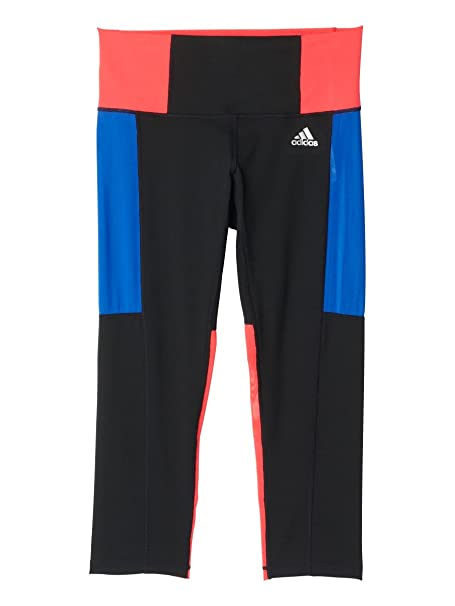 dfc70d7d1fea1 Amazon.com: adidas Women's Performer High-Rise 3/4 Tights: Clothing