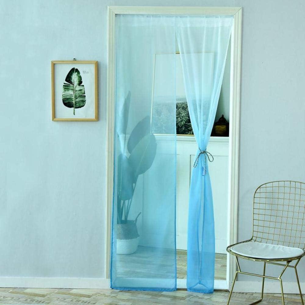 FWML Color sólido Cortinas para Puertas Decoración del Dormitorio ...