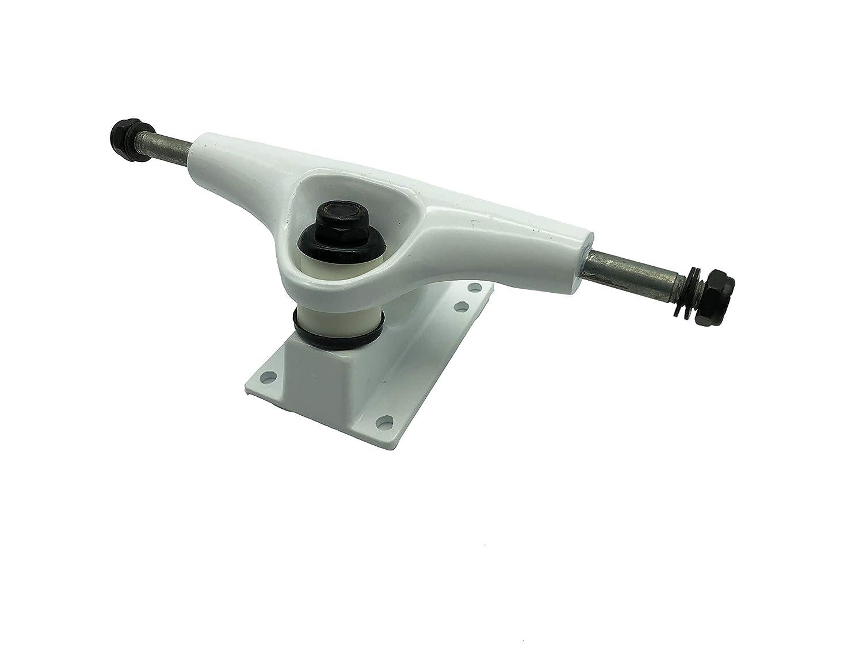 Rayline Sport Serie passend f/ür Decks 7.5-8.25 // Abmessungen: LxBxH: 7,5x20x6,5 cm Wei/ß Gewicht: 318g 2er Set Universal Skateboard Achsen