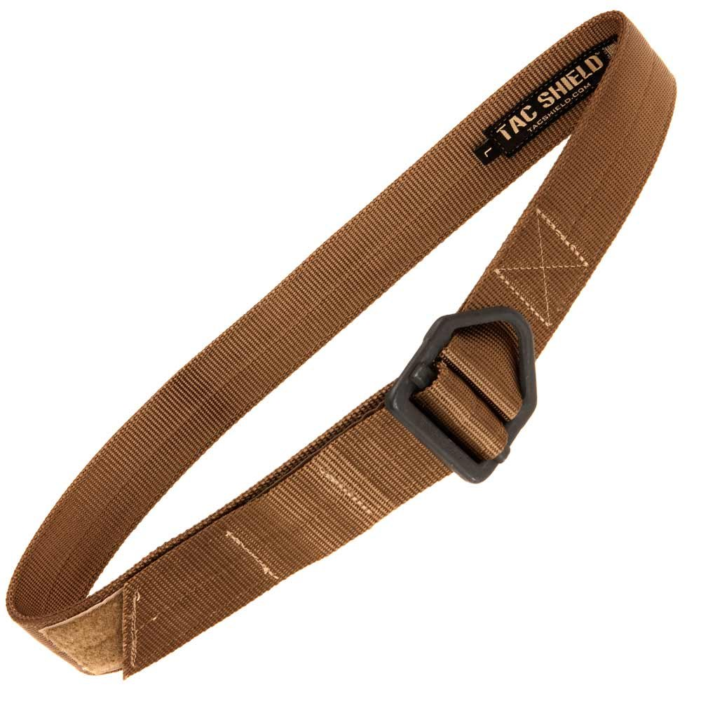 Tac Shield Tactical Rigger Belt, Small, Coyote by Tac Shield (Image #1)