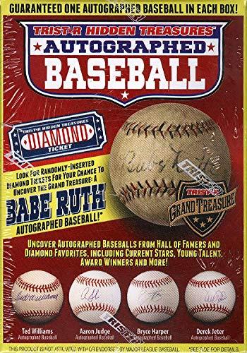 (2017 Tristar Hidden Treasures Series 9 Auto Baseball Box)