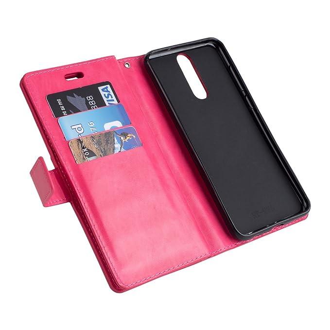Amazon.com: Huawei Mate 10 Lite Wallet Case Case Card Holder ...