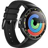 Ticwatch S スマートウォッチ 最快適 Smartwatch 1.4インチOLEDスクリーン Android Wear 2.0 Googleアシスタント搭载 iOS/Android対応 S ブラック