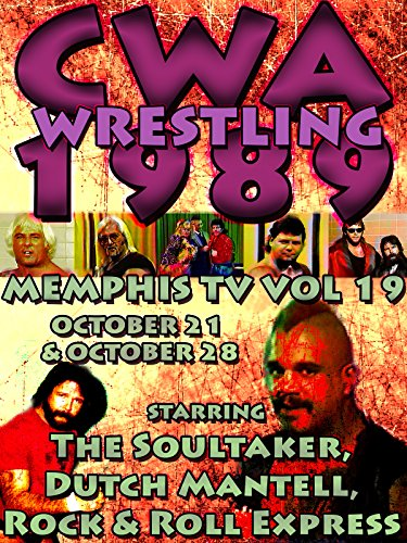 CWA Memphis Wrestling 2 Complete Broadcasts 1989 Vol 19 -