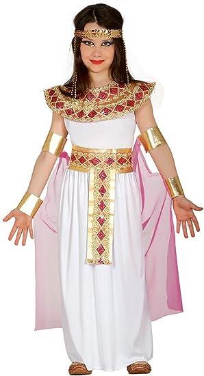 Guirca - Disfraz de Egipcia, talla 7-9 años, color rosa (85944 ...