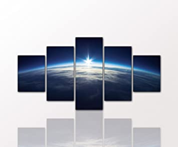 Amazon.de: BERGER DESIGNS - Wandbild als 5 teiliges Bild \