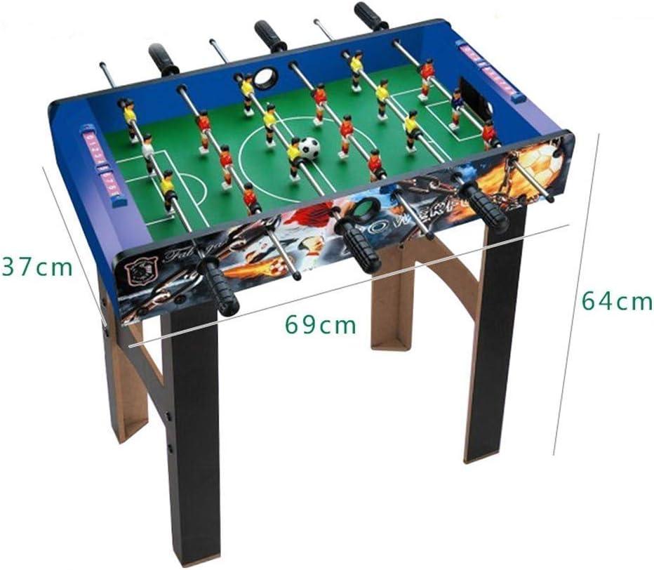 LMCLJJ Juego de fútbol de Mesa de futbolín for niños y Adultos con ...