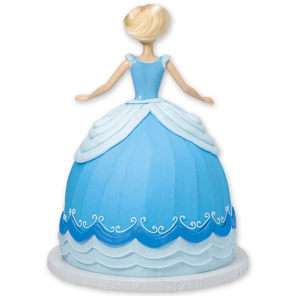DecoPac Disney Princess Doll Signature Cake DecoSet Cake Topper, Cinderella, 11'' by DecoPac