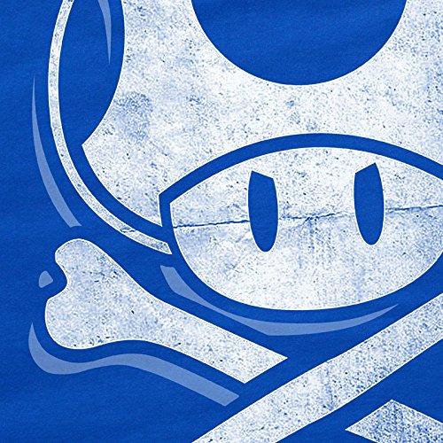 juego Skull World camiseta Super Toadskull de videojuegos Blue consola Hormiga Mario mujer 8pxqZ