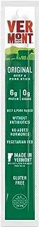 product image for Vermont Smoke & Cure Pork & Beef Jerky Sticks, Antibiotic Free, Gluten Free, No Added Hormones, Low Calorie Snack, Paleo & Keto Friendly, Original, 1oz Stick