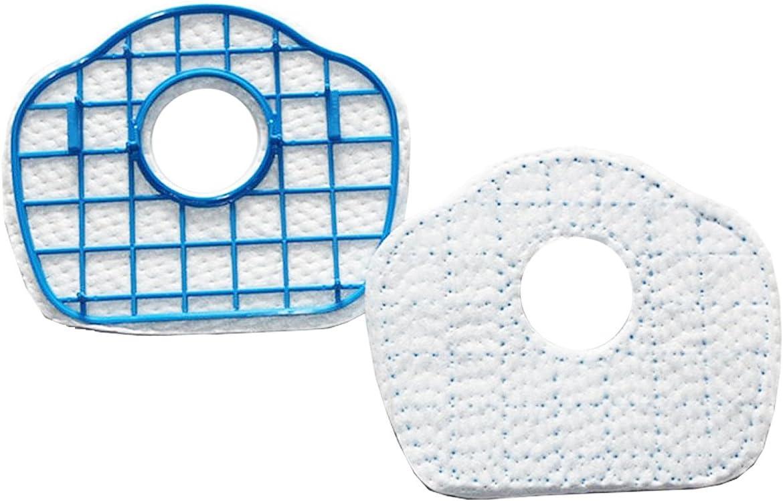 TeKeHom Paquete de 2 Repuestos de los filtros HEPA de aspiración Reemplazo de la aspiradora para Philips SmartPro Active FC8710 / FC8700 / FC8715 / FC8603: Amazon.es: Hogar