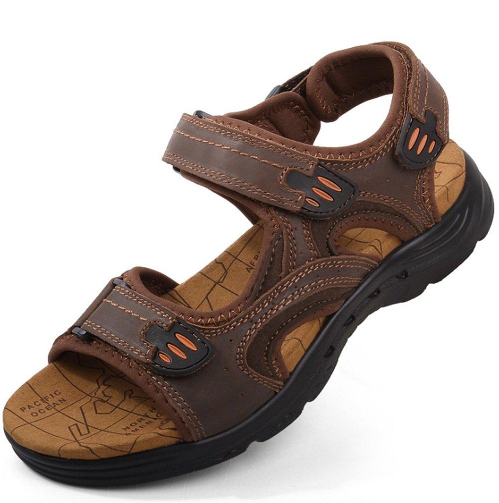 Sandalia para Hombre Al Aire Libre Magic Stick Beach Shoe Sandalias De Color Marrón Transpirable 40 EU|Marrón