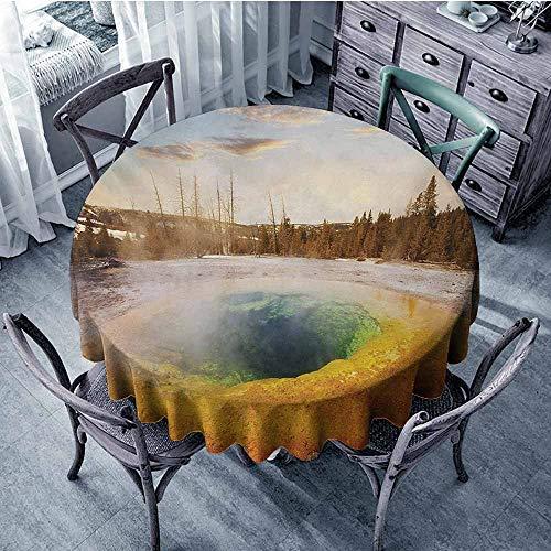 familytaste Yellowstone,Custom tablecloths D 54