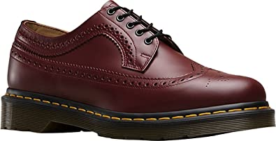 fb30d025f458 Amazon.com | Dr. Martens Unisex 3989, Cherry Red Smooth Oxford, Size ...