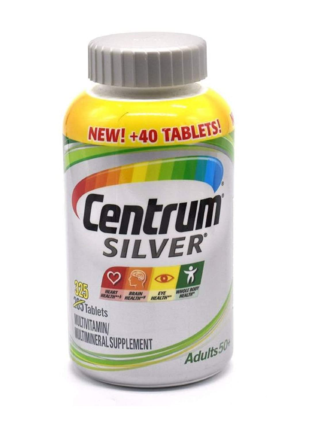 Centrum Silver Adults 50 325 Tablets