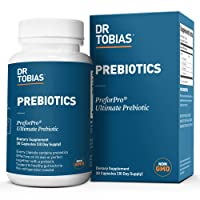 Dr. Tobias Prebiotic - Vegan, Non-GMO, 30 Day Supply - Supports Digestive Health