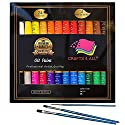 Oil paintsセット24色Premium Quality Oil Painting Kit for初心者アーティスト、学生&–Perfect for横と縦絵画キャンバスby Crafts 4すべての商品画像