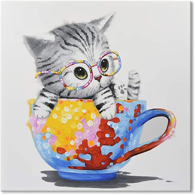 STUNNING CAT CANVAS #16 CUTE CATS EYES CANVAS A1 PICTURE WALL ART HOME DECOR
