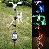 Matefield 3pcs Yard Lawn Xmas LED Animal Shape Solar Power Light Outdoor Garden Decor