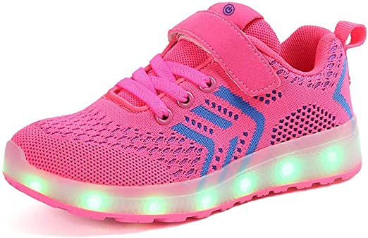Tenis Luminosos,Zapatos De Luces Para Niños LED Ligero