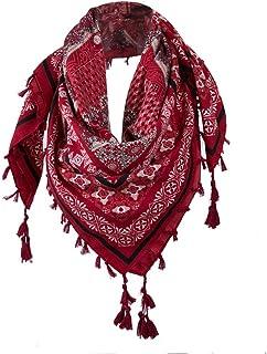 ceintures pour femme, Voberry Fashion Lady Femme Floral Prints Tassel Châle Écharpe