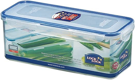 ISI HPL HPL844 Lock & Lock Alimentos rectangular recipiente de ...