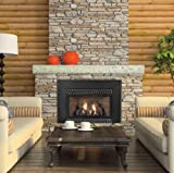 Vent-Free IP 28000 BTU Fireplace Insert - Natural Gas