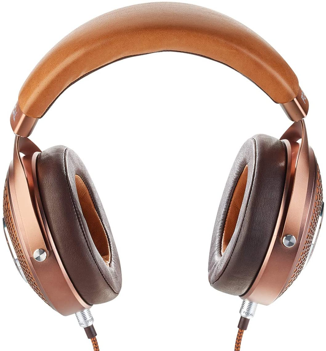 Focal Stellia Closed-Back Circum-Aural Over-Ear Headphones Cognac