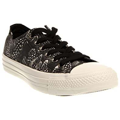 136a240acb46 Converse Women Chuck Taylor All Star Low Ox (black white)