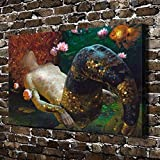 Original Decorations Art for Bedroom Living Room Home Decor Art HD Print Oil Painting on Canvas,Sexy Girl Mermaid…