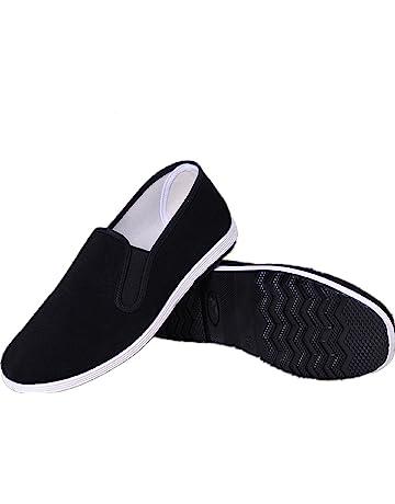 separation shoes d2d4f b5faa APIKA Zapatos Tradicionales Viejos Chinos de Pekín Kung Fu Tai Chi Zapatos  Suela de Goma Unisexo