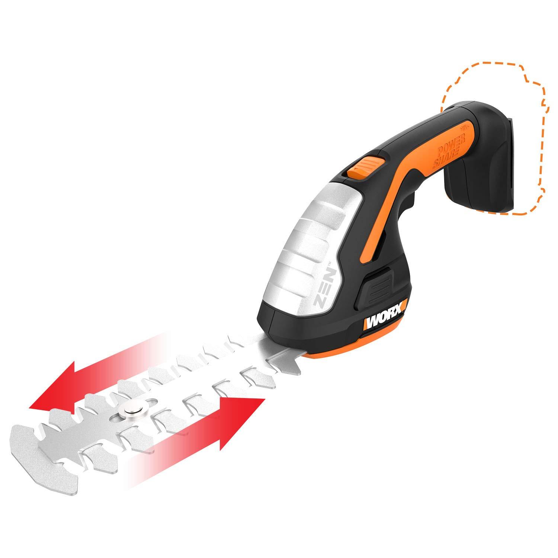 Worx WG801.9 20V Shear Shrubber Trimmer, Bare Tool Only