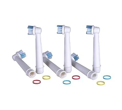 VAK - 16 cabezales para cepillo de dientes eléctrico Braun y Oral B