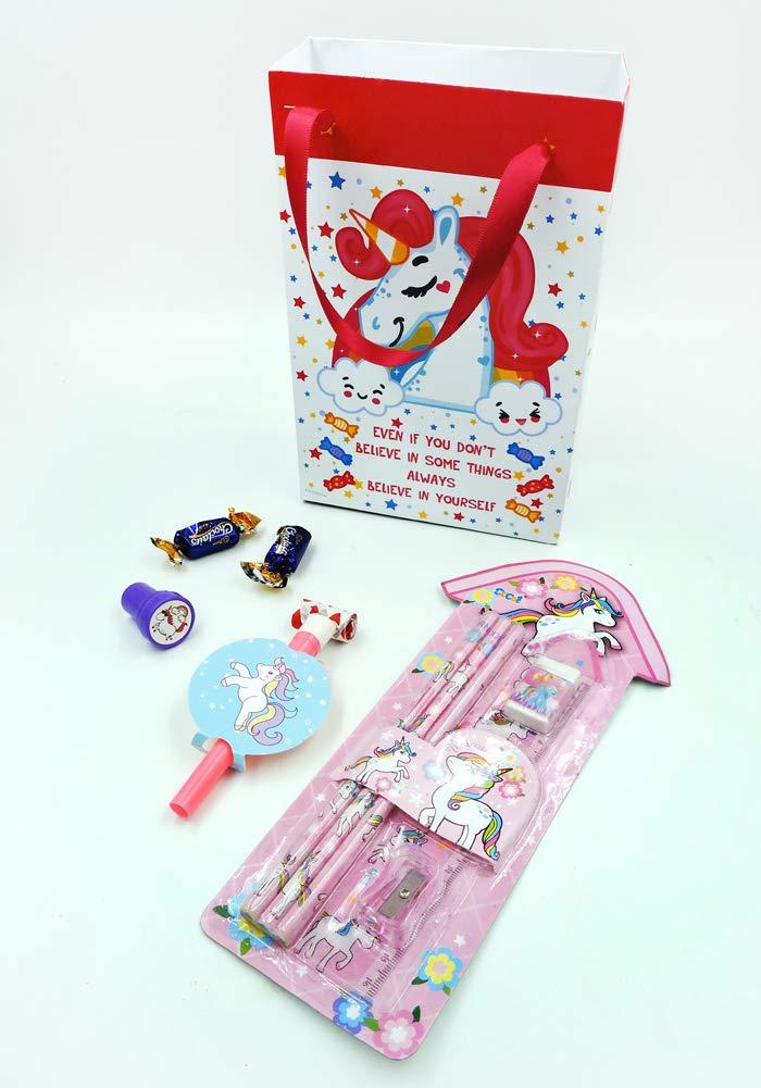 Economical Unicorn Theme Birthday Return Gift Combo6 In 1
