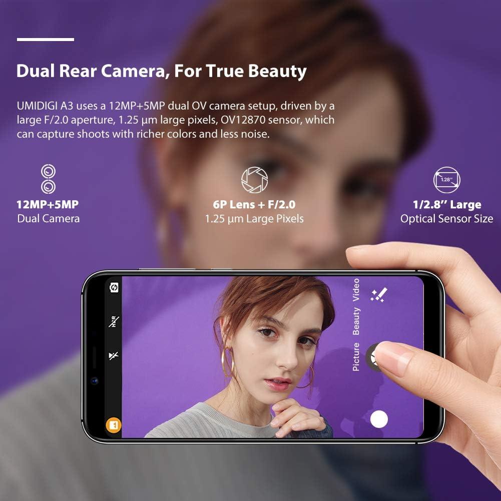 UMIDIGI A3 Versión Global 4G Face Unlock Smartphone Baratos con ...