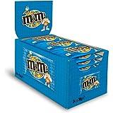 M&M'S Crispy/Knuspriger Cerealienkern in zarter Milchschokolade und bunter Zuckerglasur/Bunter Knabberspaß in mini Beuteln/24 x 36g Beutel