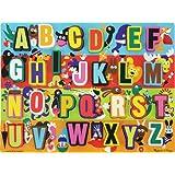 Melissa & Doug Jumbo ABC Wooden Chunky Puzzle (26 pcs)
