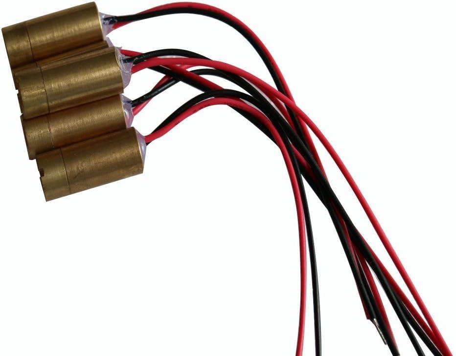 EU plug 650nm 150mw croix Laser Rouge Module 3-5 V 14,5 x 45 mm with AC adapter