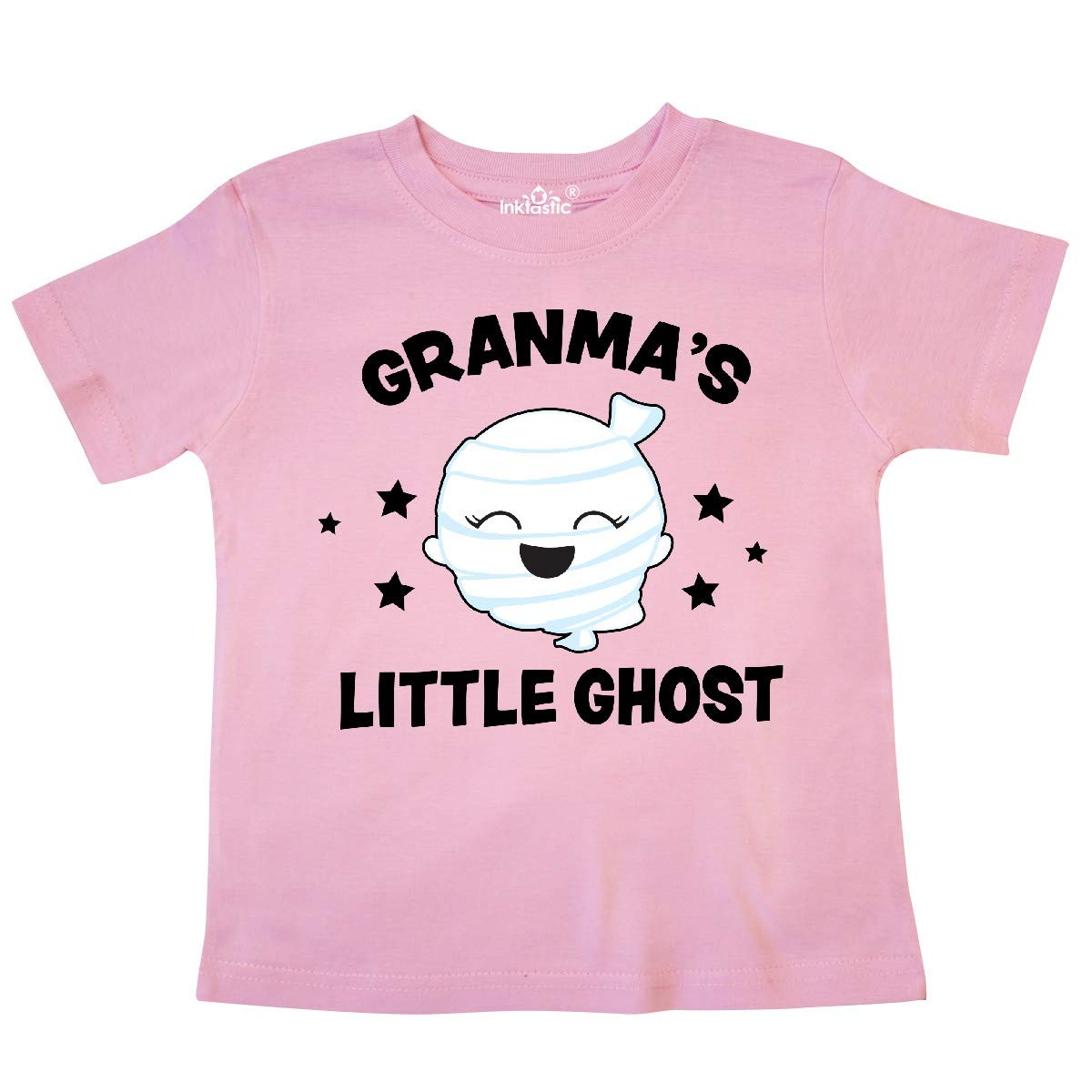 inktastic Cute Granmas Little Ghost with Stars Toddler T-Shirt