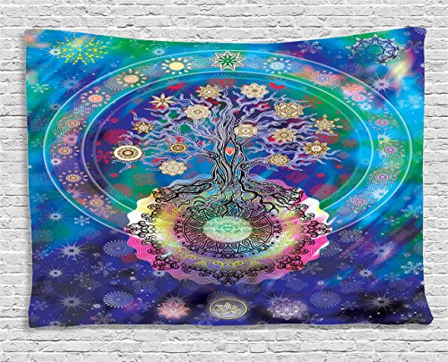 Ambesonne Collection Spiritual Meditation Tapestry