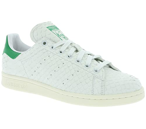 adidas Zapatillas Stan Smith W Blanco/Blanco/Verde: Amazon.es: Zapatos y complementos
