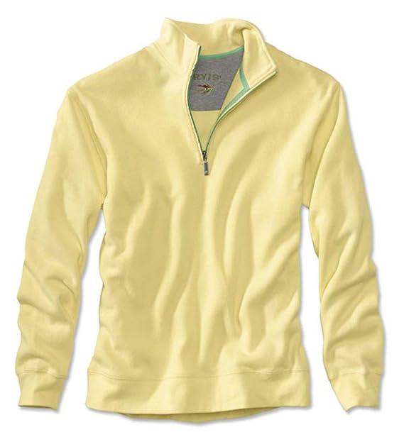 30894ffa23 Orvis Signature Softest Quarter-Zip Pullover  Amazon.co.uk  Clothing