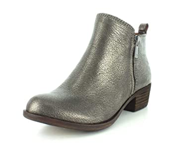1d5894e0e Amazon.com | Lucky Brand Womens Basel Old Pewter Western Boot - 7 M | Ankle  & Bootie