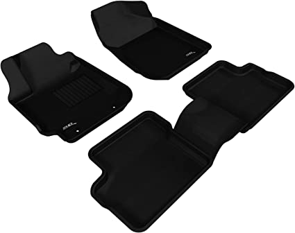 Tan Kagu Rubber 3D MAXpider Complete Set Custom Fit All-Weather Floor Mat for Select Jeep Grand Cherokee Models